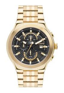 Relógio Touch Unissex Premium Dourado Twos10Ac/4P Twos10Ac/4P