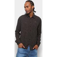Camisa Colcci Manga Longa Estampada Slim Masculina - Masculino f1f8ff47332