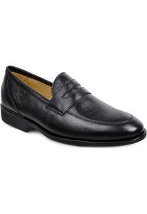 Sapato Em Couro Veneza 220220 - Masculino-Preto