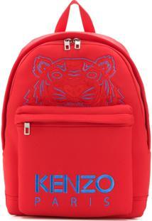 Kenzo Large Tiger Backpack - Vermelho