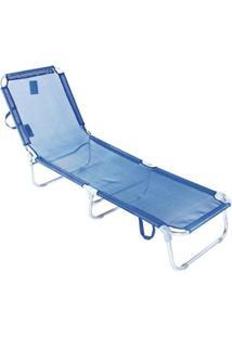 Cadeira Espreguiçadeira Textilene Alumínio 5 Posições Bel Lazer - Unissex