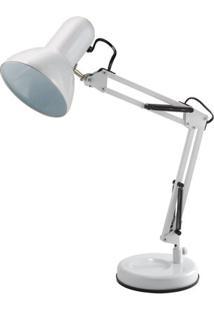 Luminária De Mesa Startec Empire B 18Cm X 18Cm X 52Cm Branco