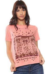Camiseta Cantão Guardias Rosa