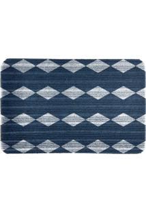 Capacho Carpet Triangulos Azul Único Love Decor