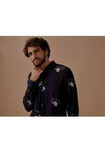 Camisa Ml Linho Oliveira