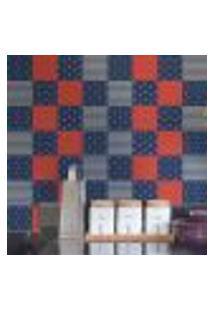Papel De Parede Autocolante Rolo 0,58 X 5M - Azulejo Marinha 250301923