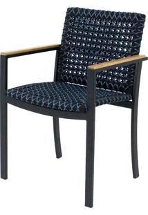 Cadeira Com Braço Phoenix Corda Nautica