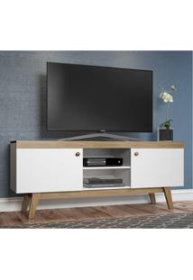 Rack Para Tv 2 Portas Trend 26701 Hanover/Branco - Artesano