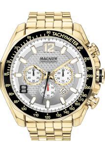 1d5ec9b88c9 Eclock. Relógio Magnum Clock Masculino Dobrável Analógico Aço Chronograph  Ma32167h