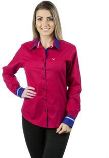 Camisa Pimenta Rosada Inês Vermelha