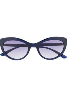 Dolce & Gabbana Eyewear Óculos De Sol Gatinho - Azul