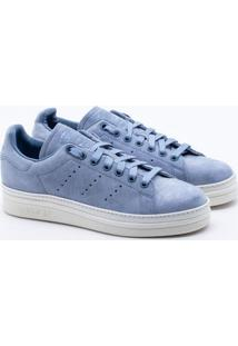 2f362f25f09 ... Tênis Adidas Stan Smith New Bold Originals Azul Feminino 34