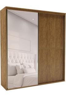 Guarda-Roupa Casal Com Espelho Sofisticato 2 Pt 3 Gv Álamo