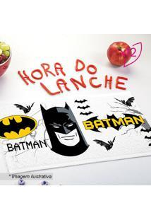 Jogo De Toalhas De Lancheira Do Batman®- Branco & Preto