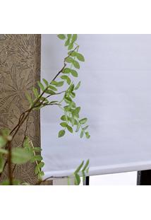 Persiana Rolô Blackout Nouvel - 1,60X1,60M - Branca