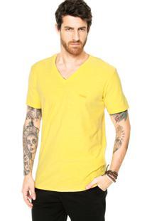 Camiseta Redley Logo Amarela