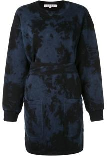 Proenza Schouler White Label Vestido Estilo Moletom - Azul