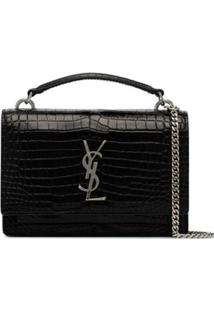 Saint Laurent Bolsa Tiracolo 'Sunset' - Preto