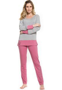 Pijama Inspirate De Inverno Inspirate Pink