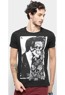 Camiseta Acostamento Floral Masculina - Masculino