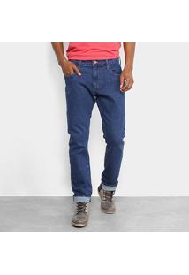 Calça Jeans Slim Forum Paul Masculina - Masculino-Azul