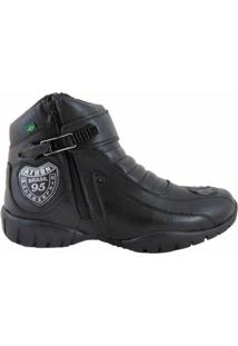 Bota Atron Shoes Motorcycle 95 - Masculino-Preto