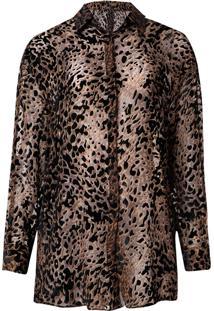 Camisa Leopard (Estampado, M)