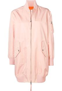 Red Valentino Jaqueta Bomber Love You - Rosa