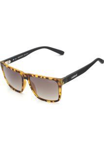 Óculos De Sol Colcci Tartaruga Amarelo/Marrom