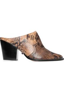 Sapato Feminino Snake Honey - Animal Print