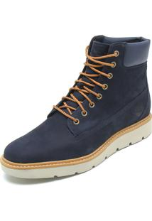 Bota Couro Timberland Kenniston 6In Lace Up Azul