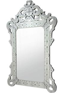 Espelho Veneziano Rainha Cor Prata 1,20 Mt (Alt) - 35450 Sun House