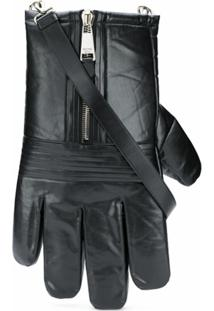 Moschino Glove Shoulder Bag - Preto