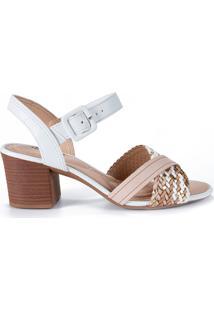 Sandália Trançada Dakota Feminina Z6402
