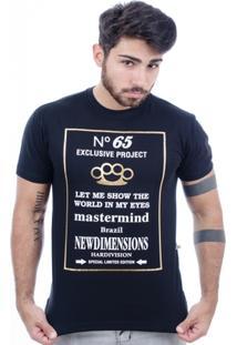 Camiseta Hardivision Luck Manga Curta - Masculino