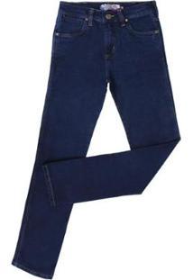 Calça Jeans Rodeo Western Masculina - Masculino-Azul Escuro