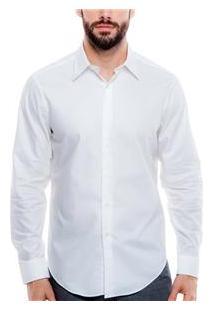 Camisa Masculina 016100 Dkny - Branco
