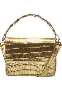 Handbag Aylah Golden Croco   Schutz