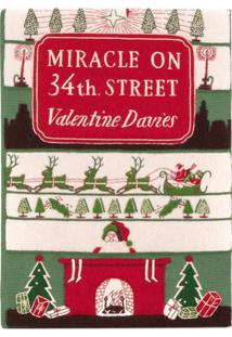 Olympia Le-Tan Clutch Livro 'Miracle On 34Th Street' - Verde