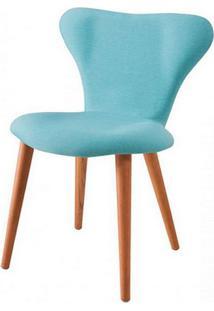 Cadeira Jacobsen Series 7 Azul Com Pes Palito Tauari - 49607 - Sun House