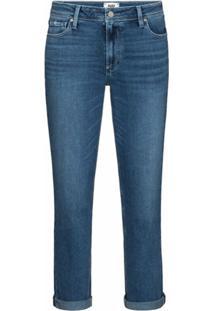 Paige Calça Jeans Cropped Brigitte - Azul
