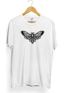 Camiseta Long Beach Butterfly Skull - Masculino