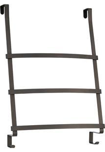 Suporte De Toalha De Aço Para Porta Interdesign Marrom 60X42,5X16,5Cm - 26428