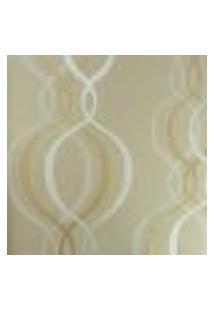 Papel De Parede Vinílico Bright Wall 980603 Com Estampa Contendo Listrado, Moderno, Geométrico