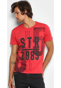 Camiseta Kohmar Gola Careca Street Km 208.404 - Masculino