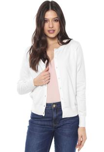 Cardigan Banana Republic Tricot Stretch-Cotton Cardigan Sweater Off-White