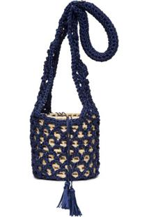 Bolsa Caroá Catarina Mina - Azul