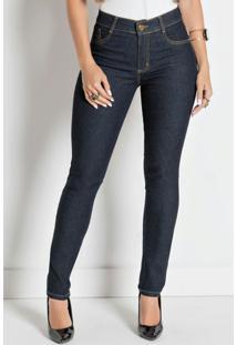 Calça Jeans Escuro Sawary