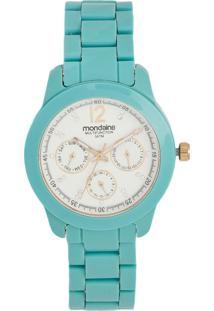Relógio Mondaine Analógico Verde