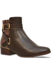 Bota Comfortflex Ankle Boot Cafe